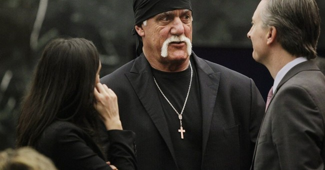 The Latest: Jury awards Hulk Hogan $115M in Gawker lawsuit