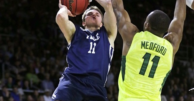 Yale upsets Baylor 79-75 to post 1st NCAA tourney win
