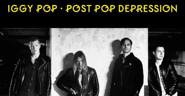 Review: Iggy Pop's 'Post Pop Depression' rocks and shocks