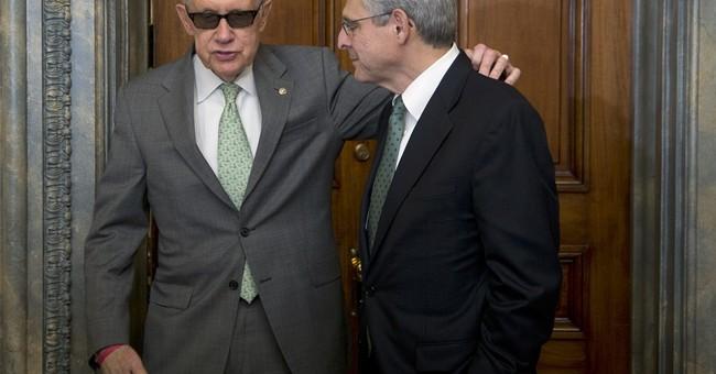 Garland meets Democrats, Senate recesses, groups up pressure