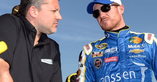 After Fontana scare, Vickers grateful to share Stewart's car