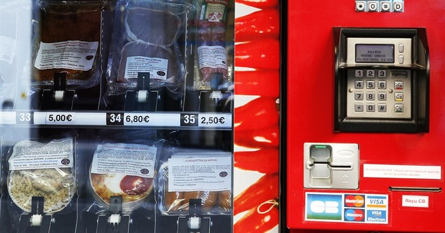 Paris gets sausages and steaks 24/7 from vending machine