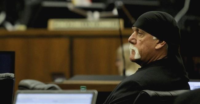 The Latest: Jury awards Hulk Hogan $115M in Gawker lawsuit