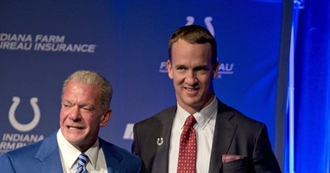 Colts to retire Manning's No. 18, add statue to stadium