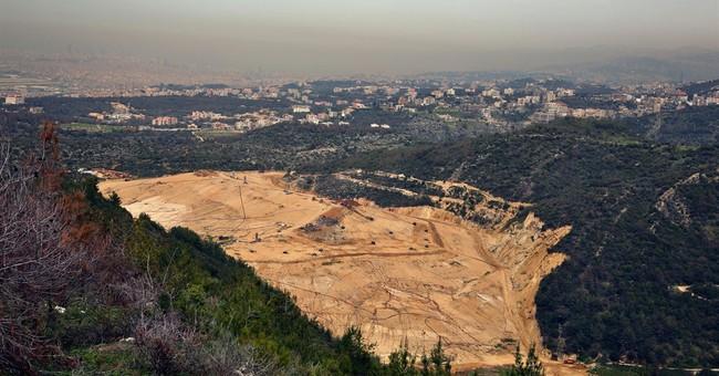Trash pickup resumes in Lebanon, ending eight-month crisis