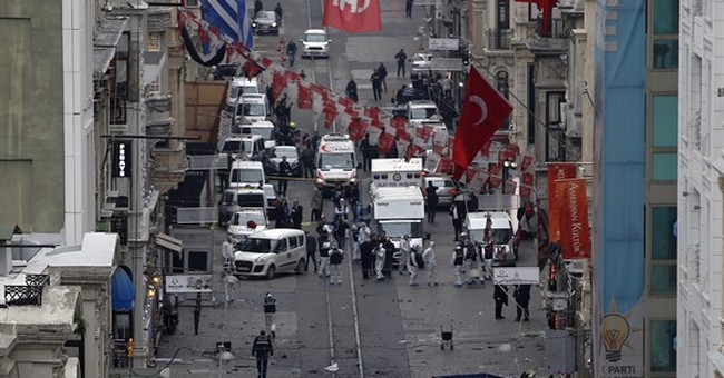 3 foreigners among 5 killed in Istanbul suicide bomb attack