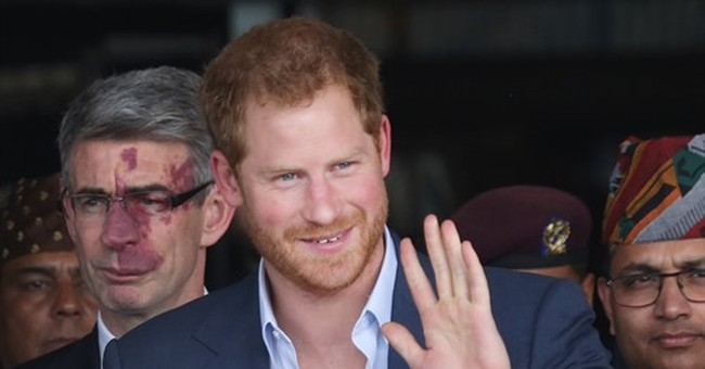 Britain's Prince Harry begins 5-day official trip to Nepal