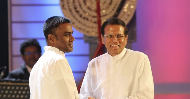 Sri Lanka leader pardons man accused of planning to kill him