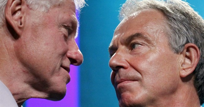 Transcripts show close ties between Blair and Clinton