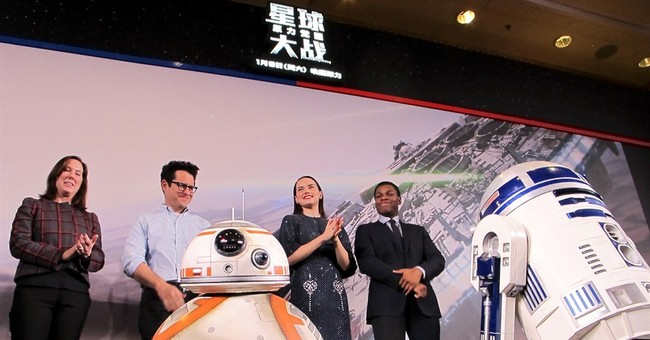 Record-breaking 'Star Wars' movie opens in China