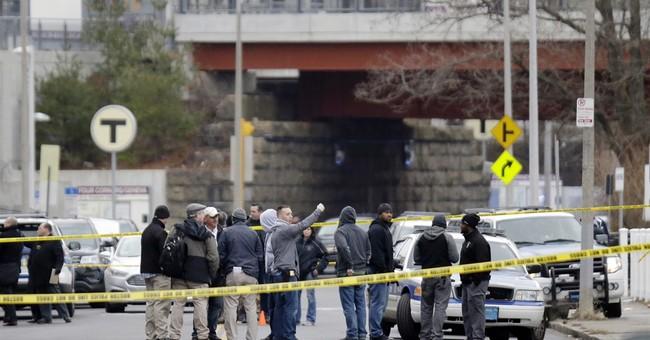 Police: Boston cop shot in leg after drug dealer pulled over