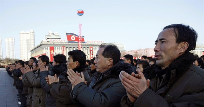 A look at decades of propaganda battles between the Koreas