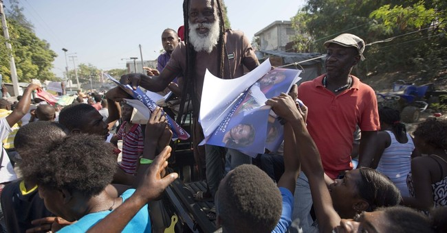 In Haiti, only 1 presidential candidate campaigning