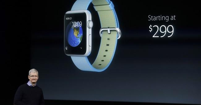 The Latest on Apple: New iPhone, iPad highlight event