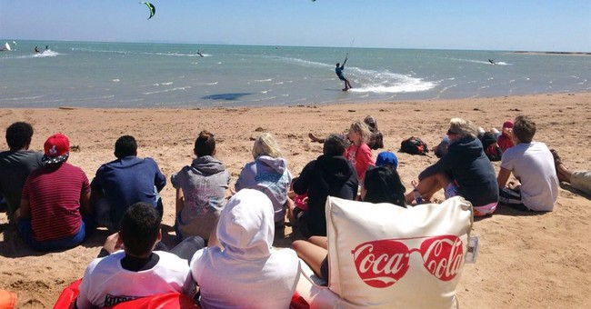 World kiteboarding championship kicks-off in Egypt's Red Sea