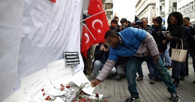 Turkish police hunt for 3 Islamic state militants