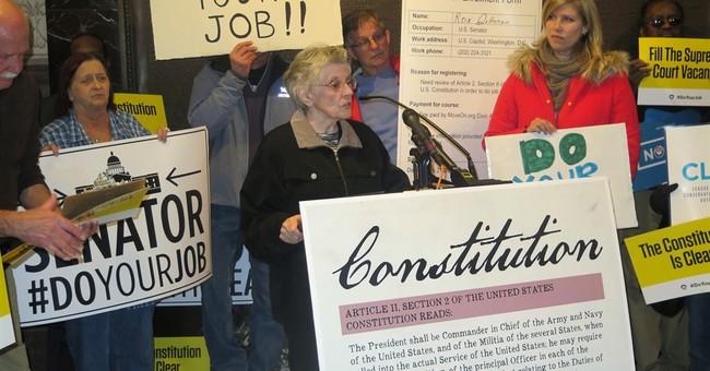 Rallies urge GOP senators to back Supreme Court vote
