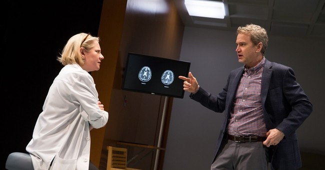 Love, science collide in in intense new play 'The Effect'
