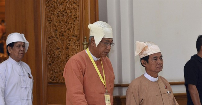Suu Kyi to be part of Myanmar's new democratic government
