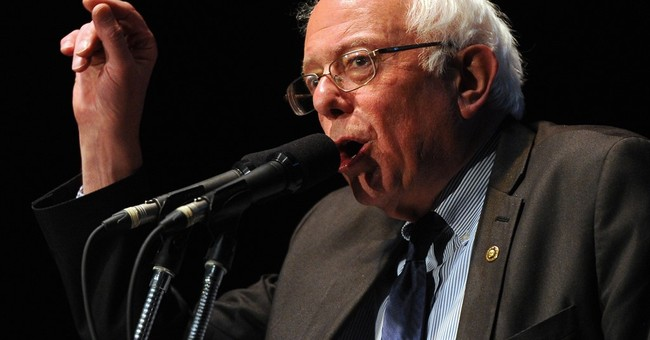 Sanders fighting perceptions he can't overcome Clinton edge