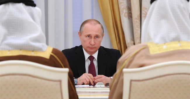 Putin hosts Abu Dhabi's crown prince for Syria-related talks