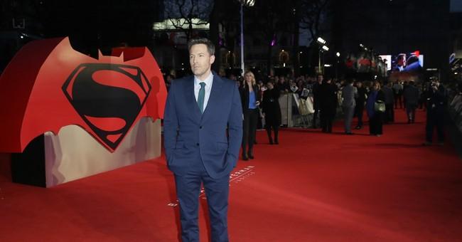 Ben Affleck and Henry Cavill face off in 'Batman v Superman'