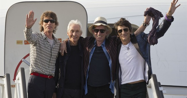 The Rolling Stones arrive in Cuba for historic concert