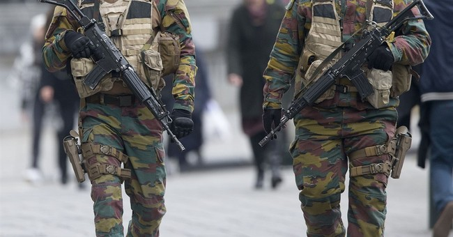 Belgian police visited suicide bombers' building last month
