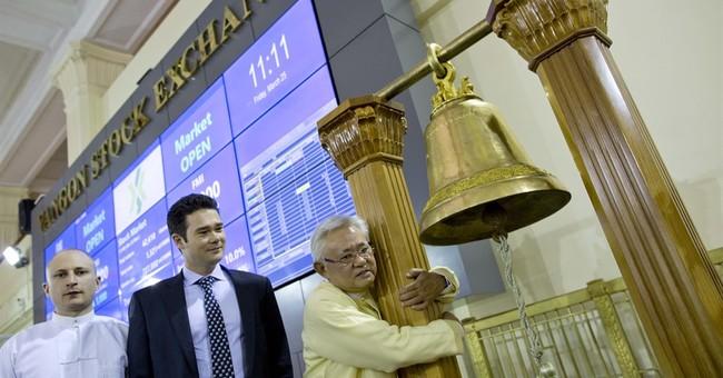Image of Asia: Opening Myanmar's new stock exchange