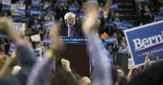 Sanders holds second large Seattle rally before caucuses