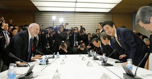 Japan's Abe taps experts as he mulls delaying 2nd tax hike