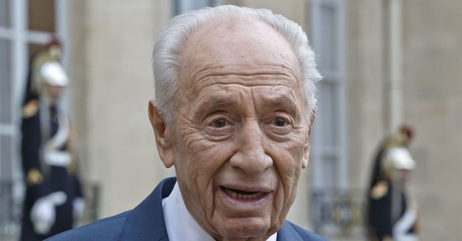 Israel's Shimon Peres: Peace will prevail over terrorism