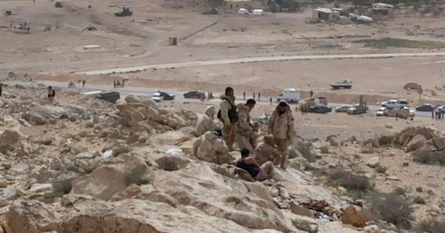 Fighting against IS rages in central Syrian town of Palmyra