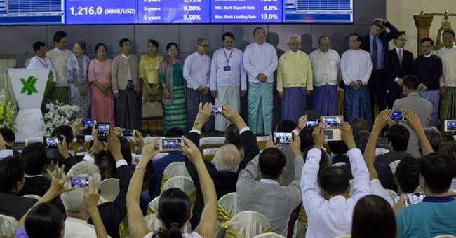 Yangon Stock Exchange formally opens for business