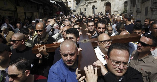 Thousands trace Jesus' footsteps on Good Friday in Jerusalem