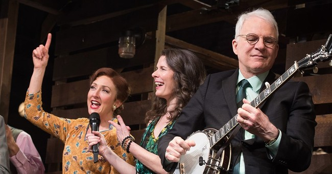 Steve Martin, Edie Brickell perform at Broadway opening