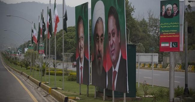 Iran's Rouhani making first visit to Pakistan as president
