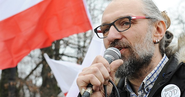 Computer specialist becomes face of Polish protest movement
