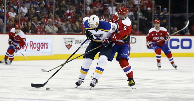 Blues beat Capitals for fourth consecutive shutout