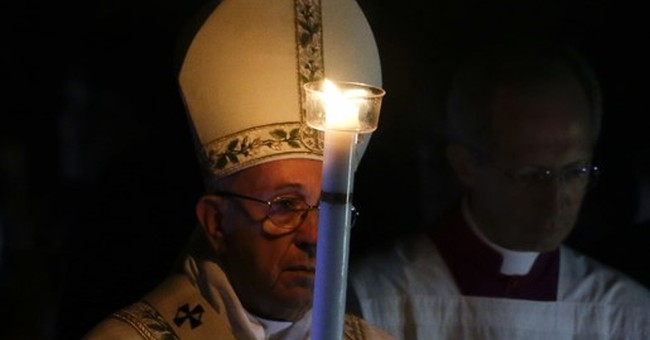 After bleak week, Pope Francis offers Easter message