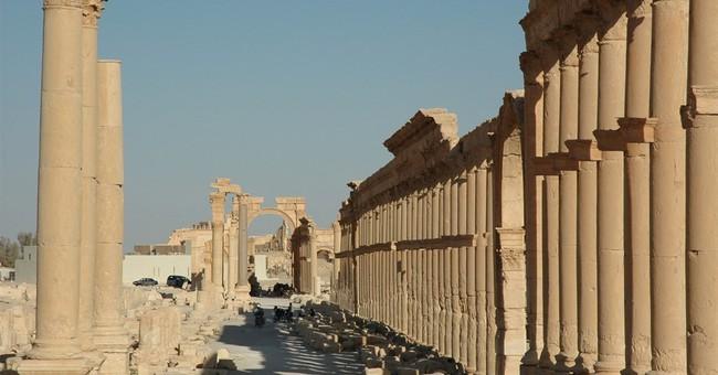 Retaking Syria's Palmyra reveals more shattered antiquities