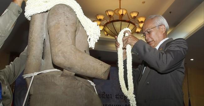 US museum returns 10th century Khmer statue to Cambodia