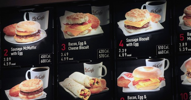Calorie labels on menus delayed again _ to next year