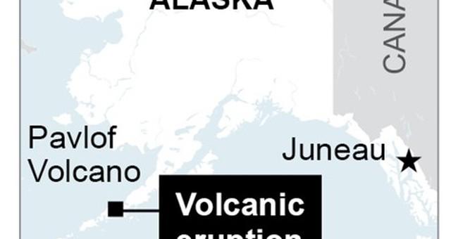Alaska volcano ash cloud covers 400 miles, cancels flights