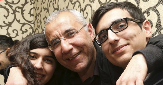Azerbaijan frees rights activist after 2 years in prison