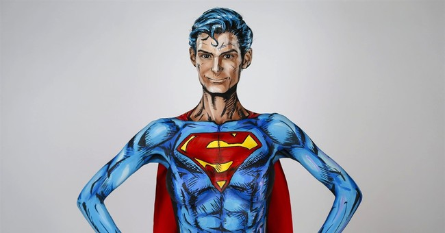 Canadian artist transforms into comic characters online