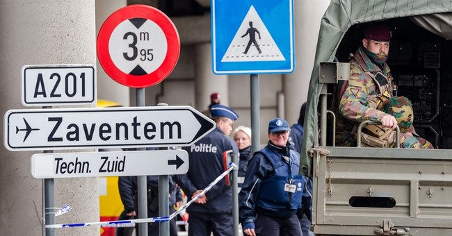 The Latest: 90 remain hospitalized week after Brussels bombs