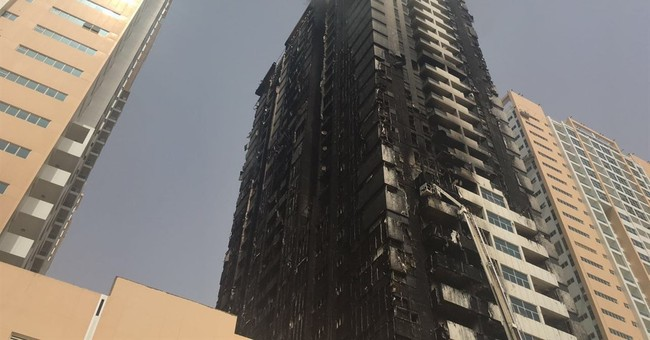 Fire extinguished at United Arab Emirates tower complex