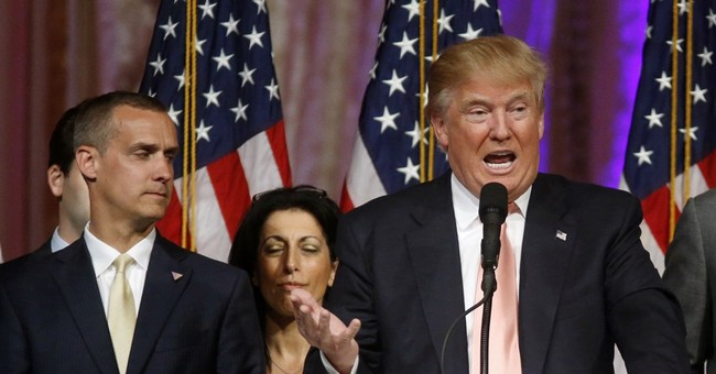 The Latest: Trump suggests campaign manager protected him