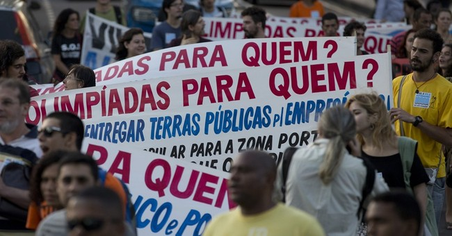 Security expert: Rio Olympic torch is target for protesters